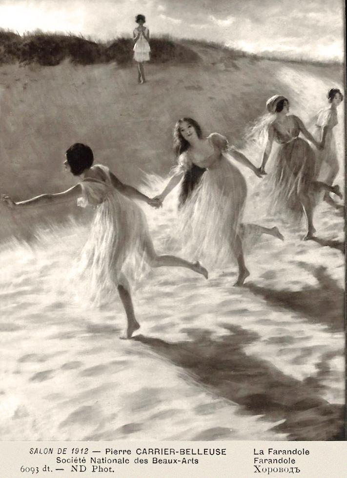 Pierre Carrier-Belleuse 1912 La farandole