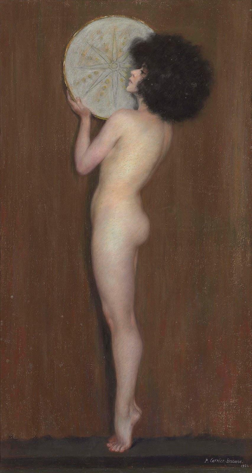 Pierre Carrier-Belleuse 1924 La danseuse Constantinova