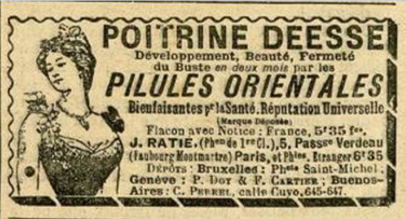 Publicite 1901