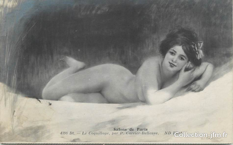 pierre carrier-belleuse 1910 Le coquillage