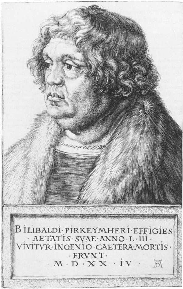 Durer 1524 Pirckheimer