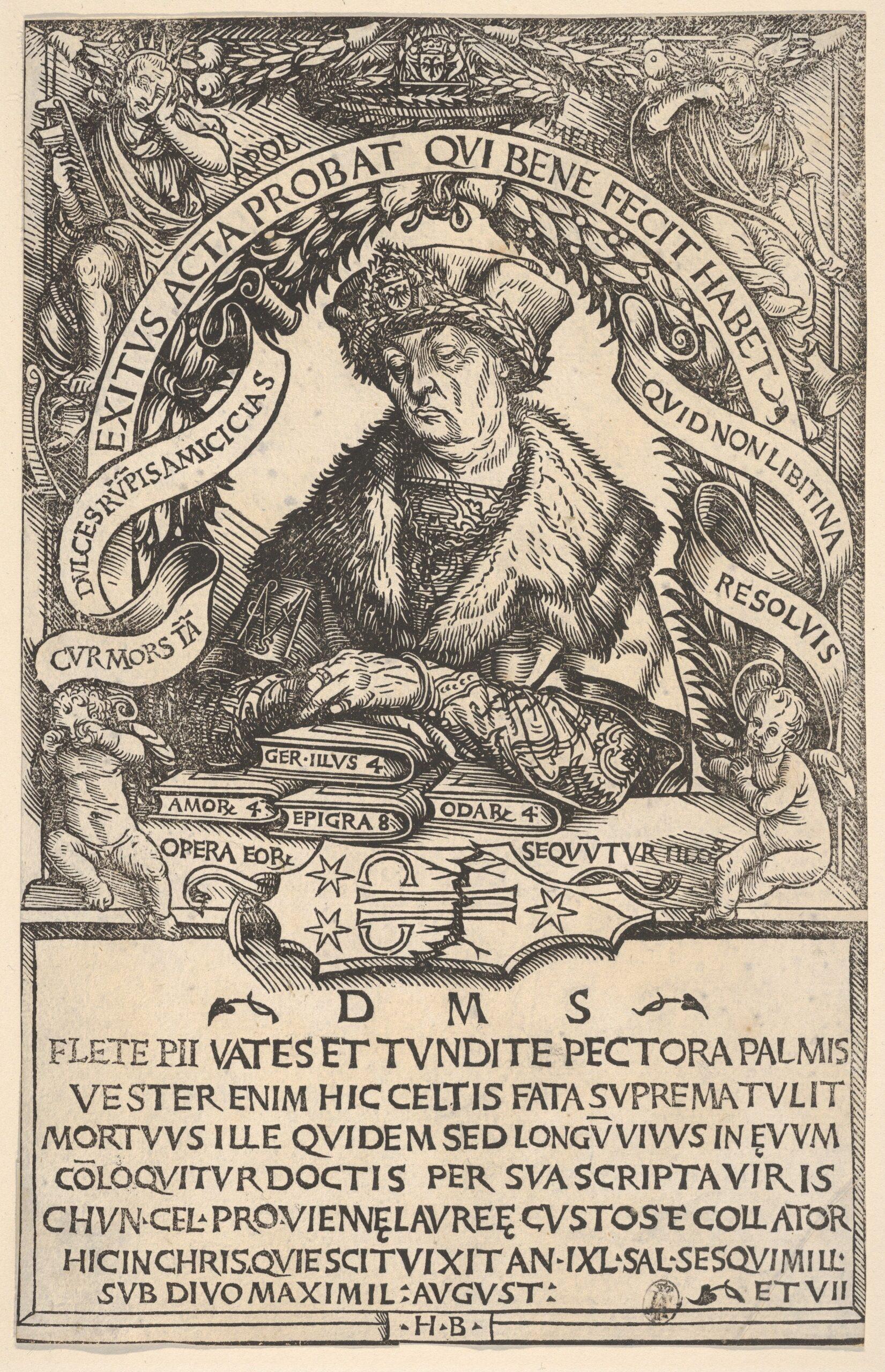 Epitaph-of-Conrad-Celtis-1503-04-Hans-Burgkmair-MET
