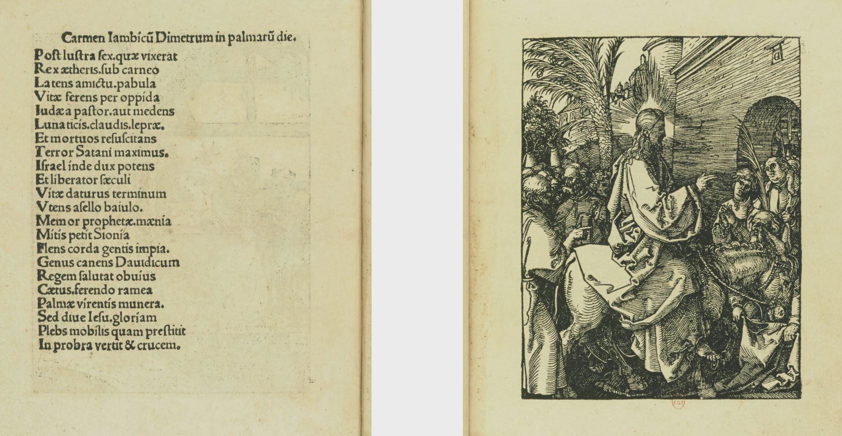 Passio Christi ab Alberto Durer Nurenbergensi effigiata fol 4v 5r Gallica
